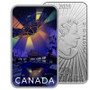 MONTREAL UFO Incident Unexplained Phenomena 1 oz Silver Glow Coin CA 2021