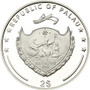 Butterfly Silver Proof Coin 2$ Palau 2013
