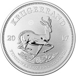 KRUGERRAND 50th. Anniversary 1oz Silver Coin South Africa 2017