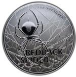 REDBACK SPIDER 1 OZ SILVER COIN AUSTRALIA 2020