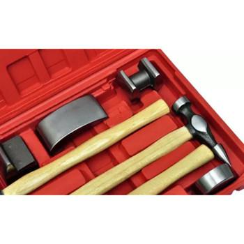 Set karoserijskih alata za izravnavanje neravnina, 7 dijelni
