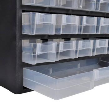 Plastični ormarić s 41 ladica za pohranu alata