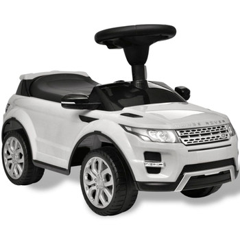 Land Rover 348 Dječji Autić s Glazbom Bijeli