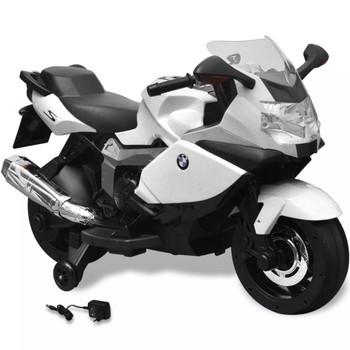 BMW 283 električni motocikl za djecu 6 V, bijeli