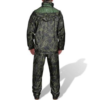 Kišno muško odijelo s kapuljačom, Veličina L, Boja kamuflaže