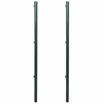 Stupovi za ogradu 2 kom, 175 cm
