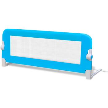 Sigurnosna Ograda za Dječji Krevetić 102 x 42 cm Plava