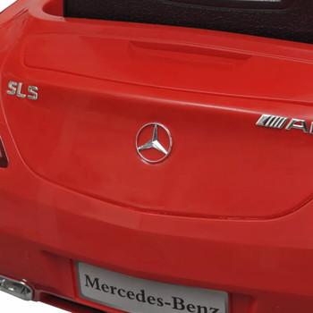 Električni Mercedes Benz SLS AMG crveni, 6 V s daljinskim upravljačem