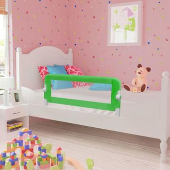 Zelena sigurnosna ograda za dječji krevetić 102 x 42 cm