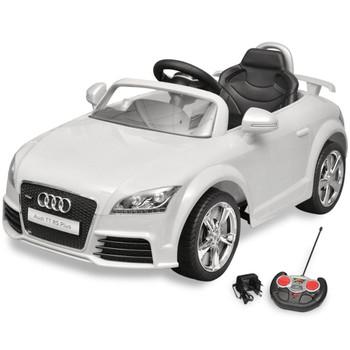 Dječji autić Audi TT RS s daljinskim upravljanjem, bijeli