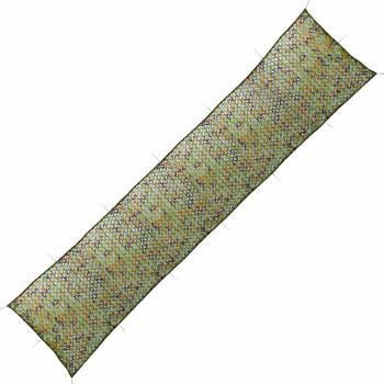 vidaXL Kamuflažna mreža s torbom za pohranu 1,5x7 m