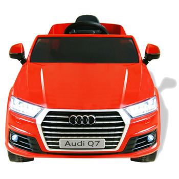 vidaXL Električni Autić Audi Q7 Crveni 6 V