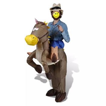 Kostim na napuhavanje, Kauboj na konju