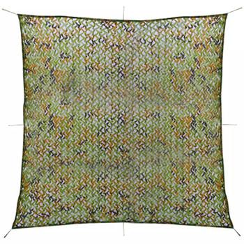 vidaXL Kamuflažna mreža sa torbom za pohranu 3x3 m