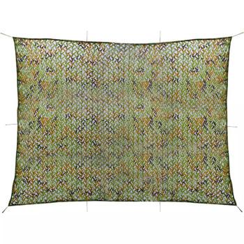 VidaXL Kamuflažna mreža sa torbom za pohranu 3x4 m