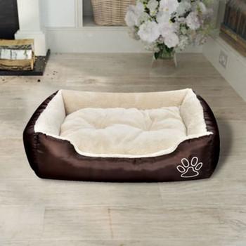Topli krevet za pse s podstavljenim jastukom XL