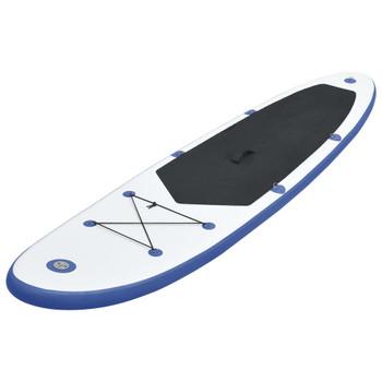 Stand Up Paddle Board Set SUP Surf Ploča na Napuhavanje, Plavo-Bijela