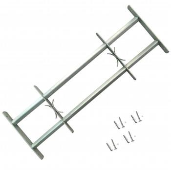 Podesiva Sigurnosna Rešetka za Prozore sa 2 prečke 500-650 mm