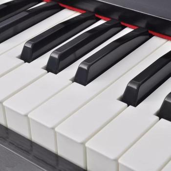 vidaXL digitalni piano s crnom melaminskom pločom i 88 tipki