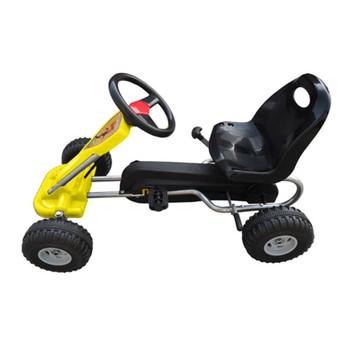 vidaXL Go Kart Auto s Pedalama Žuti