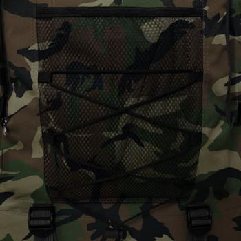vidaXL Ruksak XXL 100 L Vojni stil Maskirna boja