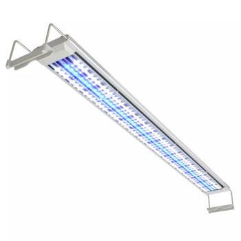 vidaXL LED Akvarijska Lampa 100-110 cm Aluminijum IP67