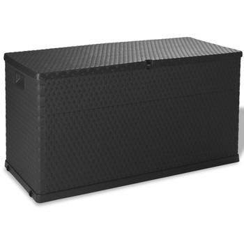 vidaXL Vrtna Kutija za Pohranu 420 L Antracit