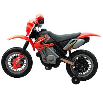 Dječji električni crveni motocikl