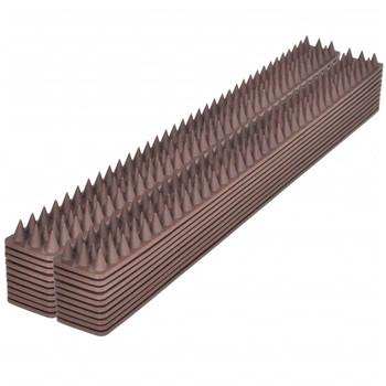 Set šiljaka za zaštitu od ptica 49 x 4,5 x 1,7 cm, 20 kom