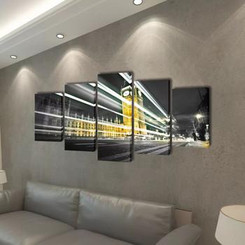 Zidne Slike na Platnu s Printom London Big Ben 100 x 50 cm