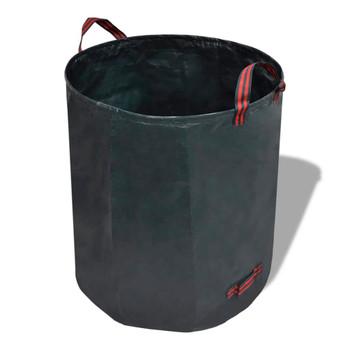 Vrtne vreće za otpatke tamnozelena, 4 komada, 272 litara, 150 g/m2