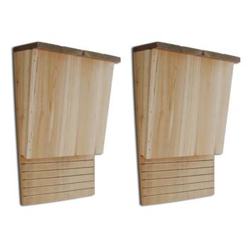 Kućica za Šišmiše 22x12x34 cm 2 kom Set