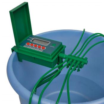 Automatski sustav za irigaciju s prskalicom i mjeračem vremena