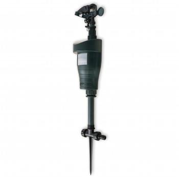 vidaXL Repelent za Životinje Raspršivač sa PIR senzorom tamno zeleni