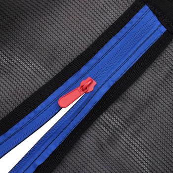 vidaXL Sigurnosna mreža PE Crna za 3,05 m Okrugli Trampolin