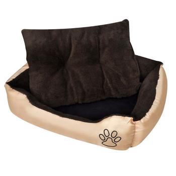 Topli krevet za pse s podstavljenim jastukom M [nid:2847008]