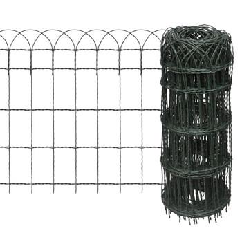 Proširiva niska ograda za travnjak,25 x 0,65 m
