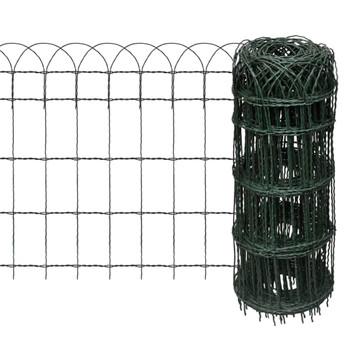 Proširiva niska ograda za travnjak, 10 x 0,65 m
