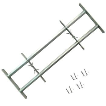 Podesiva Sigurnosna Rešetka za Prozore sa 2 prečke 1000-1500 mm