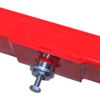 vidaXL Poprečni Regulirajući Adapter za Dizalice,2 -tonski,Crveni
