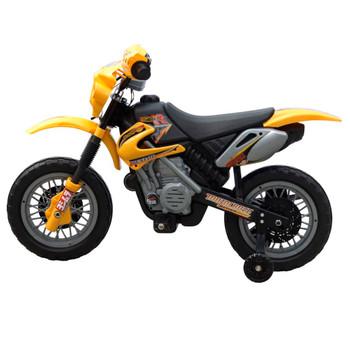Dječji električni žuti motocikl