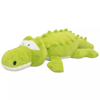 vidaXL Plišani Krokodil Igračka XXL 100 cm