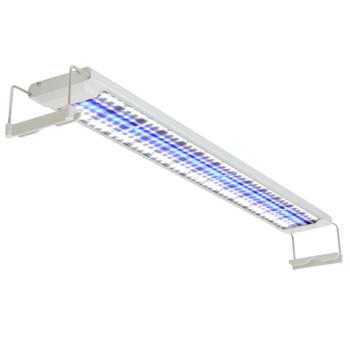 vidaXL LED Akvarijska Lampa 80-90 cm Aluminijum IP67