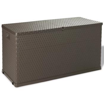 vidaXL Vrtna Kutija za Pohranu 420 L Smeđa