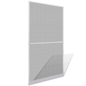 Zaslon protiv insekata za vrata, 120 x 240 cm, bijeli