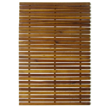 Kupaonski otirač od bagremovog drveta 3 kom 80 x 50 cm