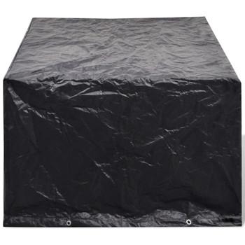 Pokrivač za Vrtnu Garnituru od Poliratana s 8 Očica 180 x 140cm