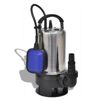 vidaXL Potopna pumpa za prljavu vodu 750 W 12500 L/ h