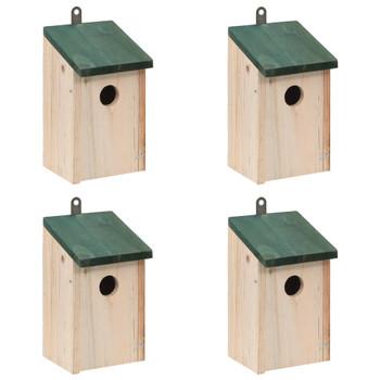 Drvene kućice za gniježđenje ptica 4 kom
