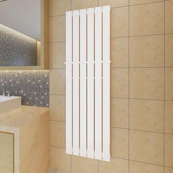 Bijeli radijator za kupaonicu s držačem za ručnike 465mm x 1500mm